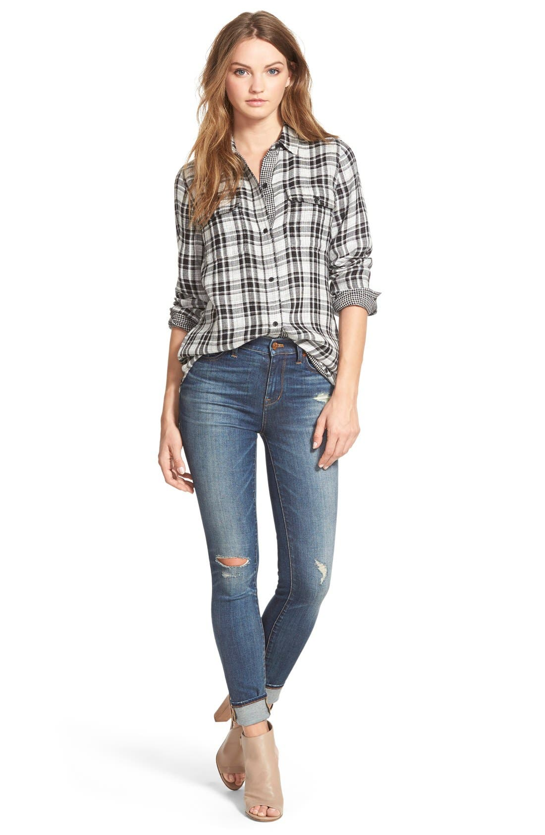 Alternate Image 5  - Madewell 'Kemp Plaid' Ex-Boyfriend Shirt