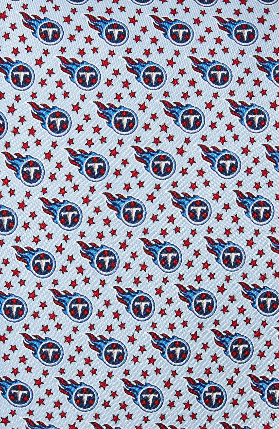 Tennessee Titans - NFL Woven Silk Tie,                             Alternate thumbnail 2, color,                             Blue Sky