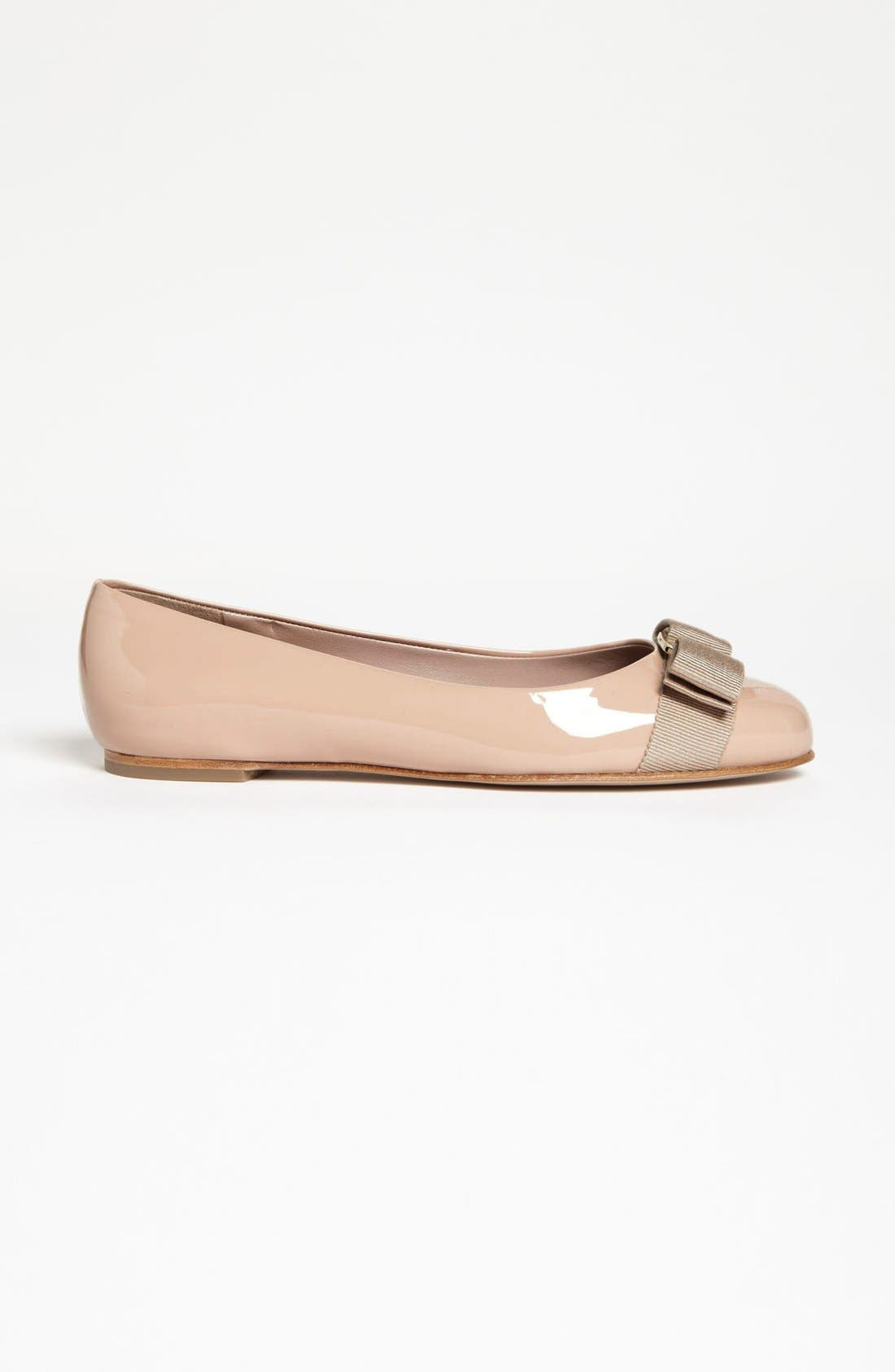 Alternate Image 4  - Salvatore Ferragamo Varina Leather Flat (Women)