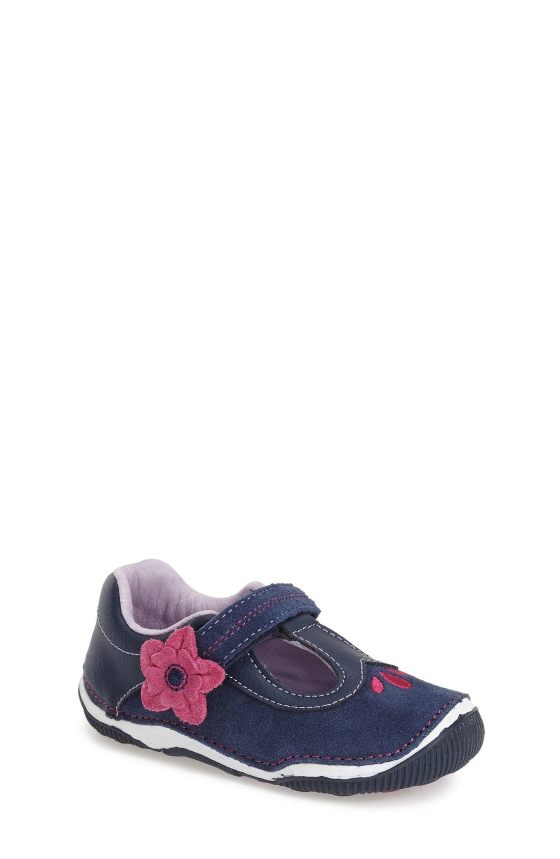'SRT Tegan' Mary Jane,                             Main thumbnail 1, color,                             Navy
