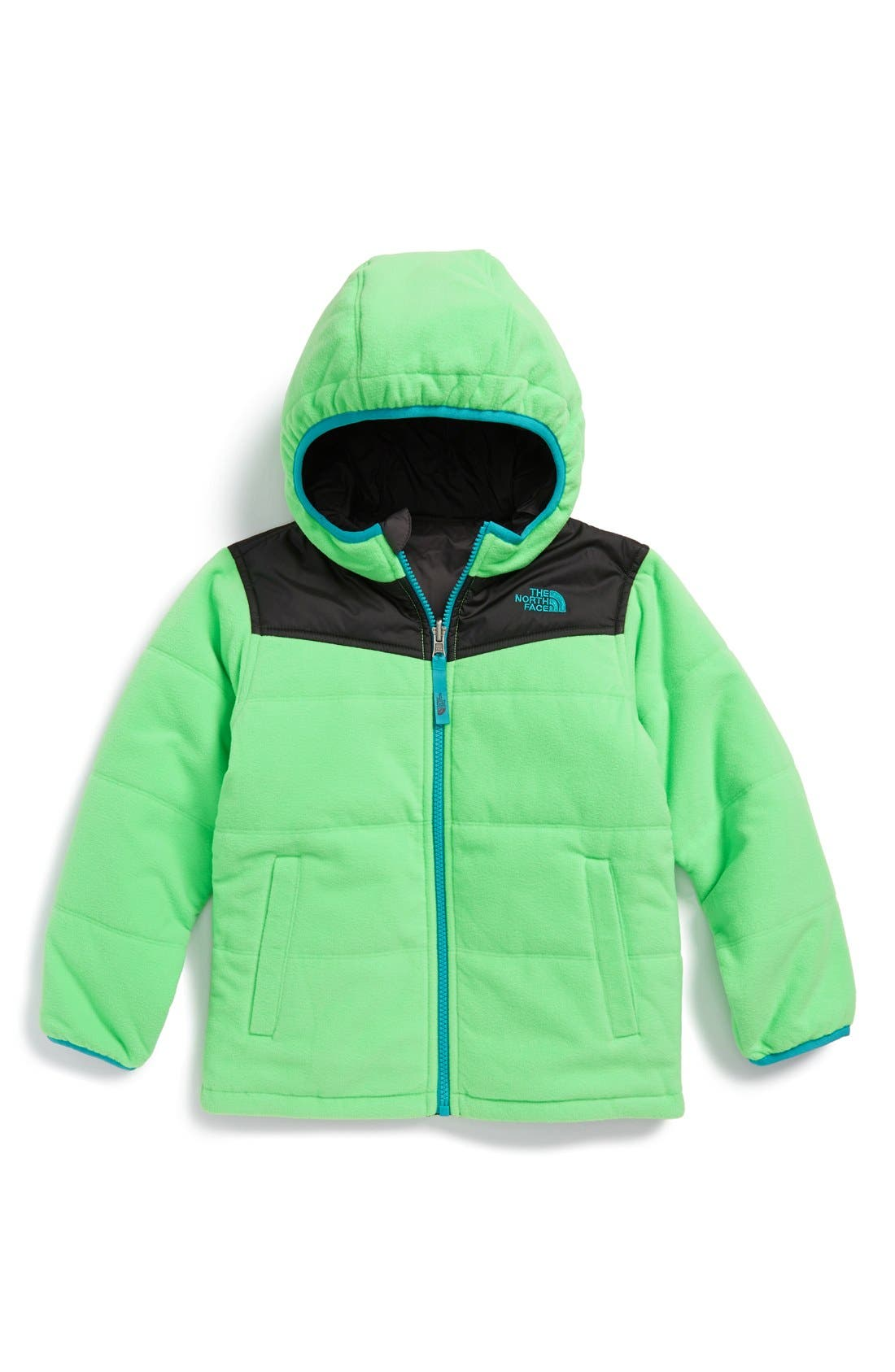 Alternate Image 1 Selected - The North Face 'True or False' Reversible Water Resistant Jacket (Toddler Boys & Little Boys)
