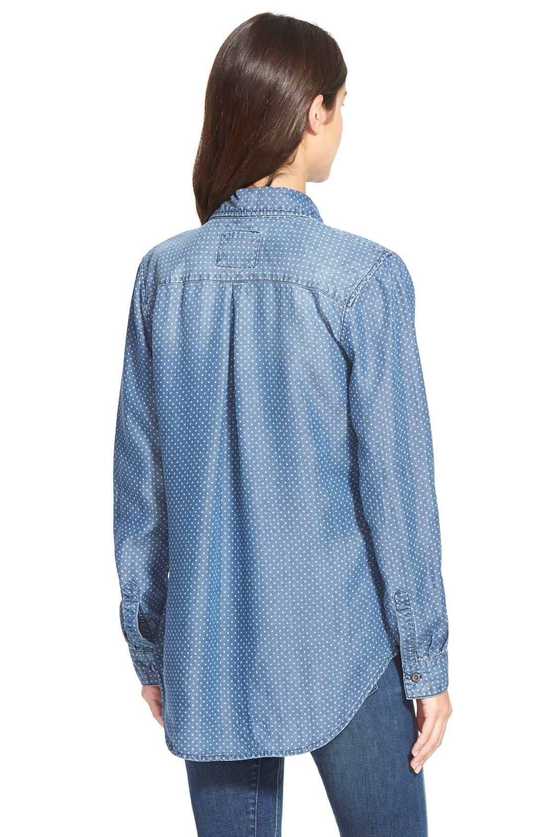 Alternate Image 2  - Rails 'Carter' Star DotChambray Shirt