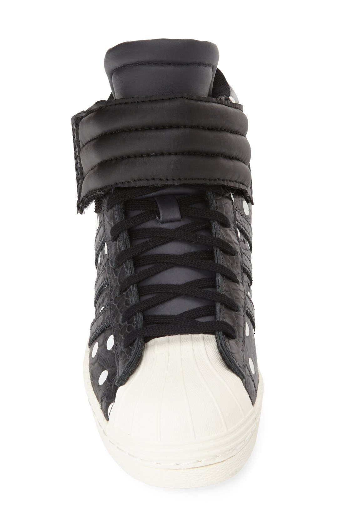 Alternate Image 3  - adidas 'Superstar Up Strap' Hidden Wedge Sneaker (Women)