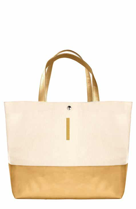 Cathy S Concepts Monogram Canvas Tote