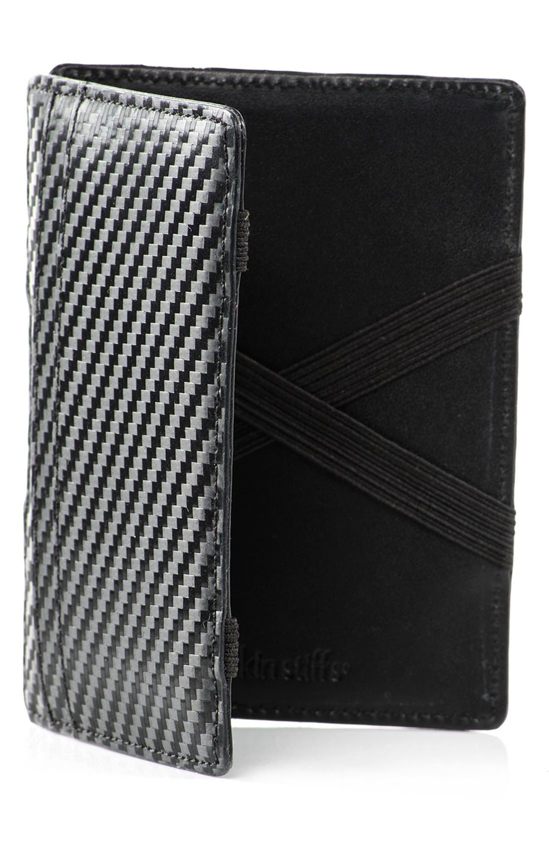 Würkin Stiffs Leather RFID Wallet,                         Main,                         color, Black