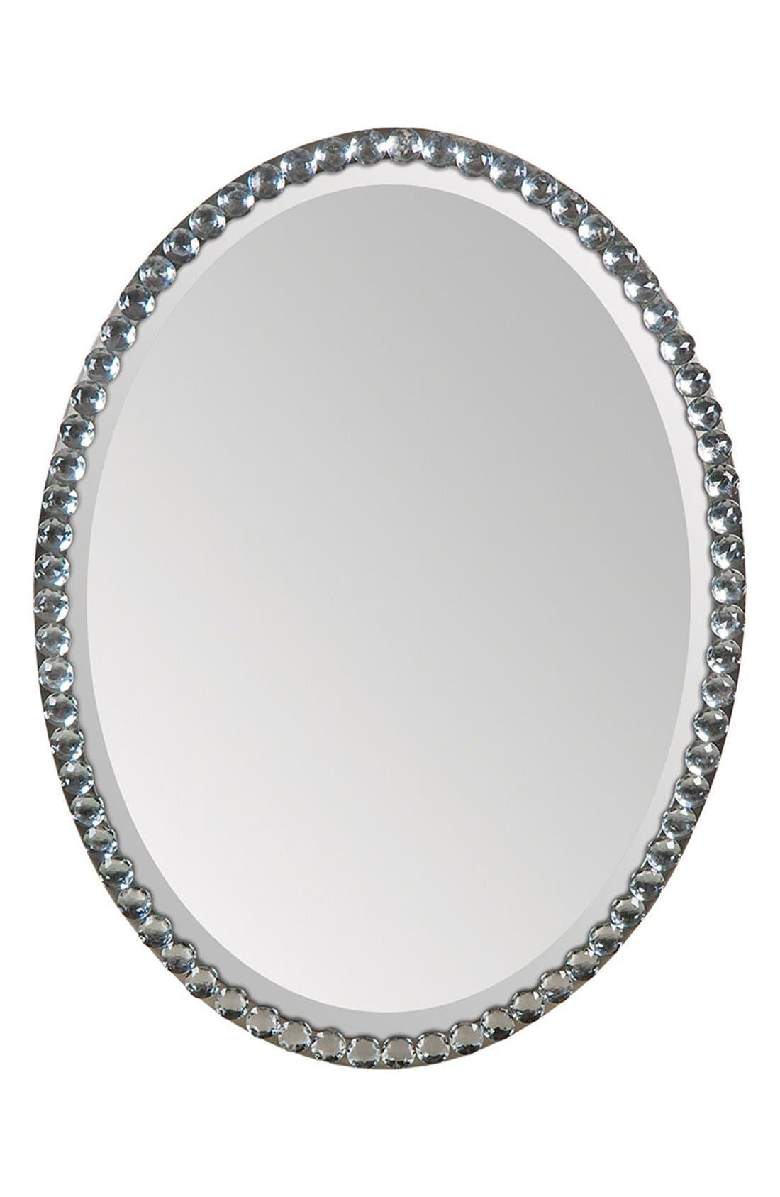 'Rhiannon' Mirror,                         Main,                         color, Silver