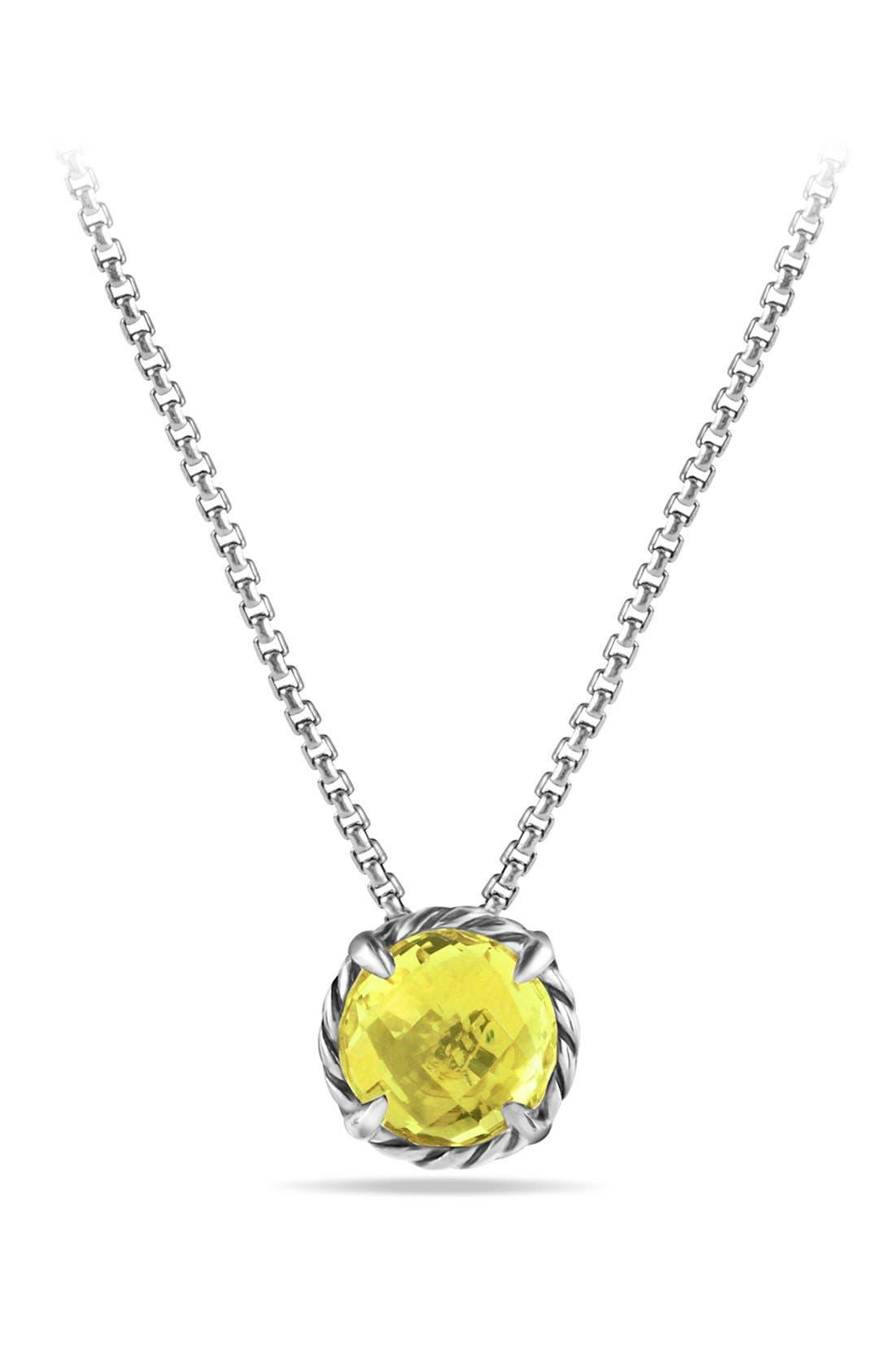 David Yurman'Châtelaine' Pendant Necklace