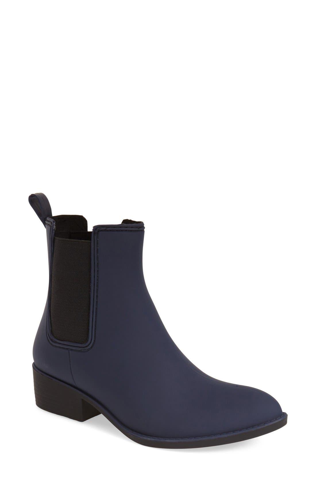 'Stormy' Rain Boot,                         Main,                         color, Navy Matte