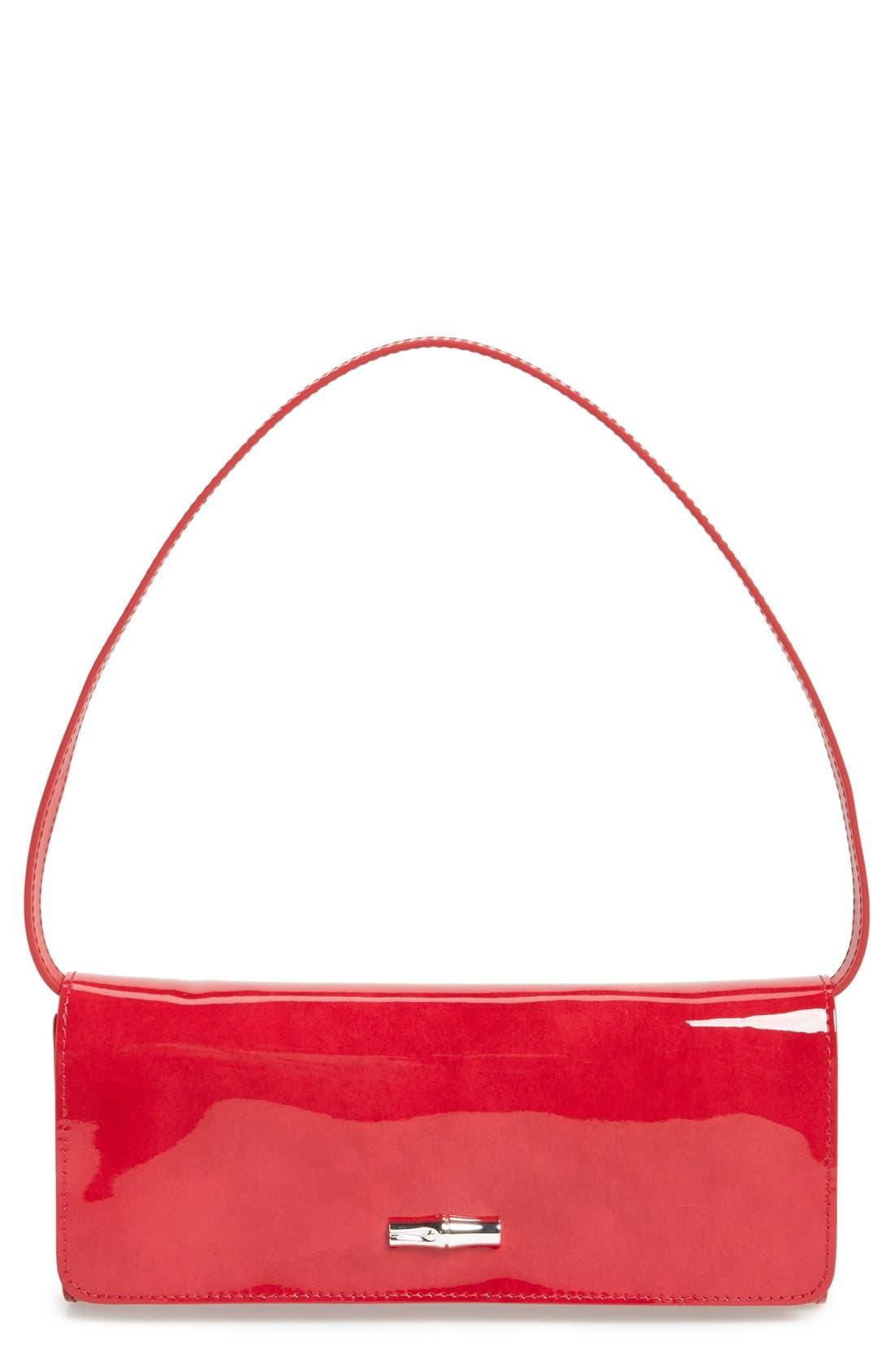 Alternate Image 1 Selected - Longchamp 'Roseau Box' Clutch