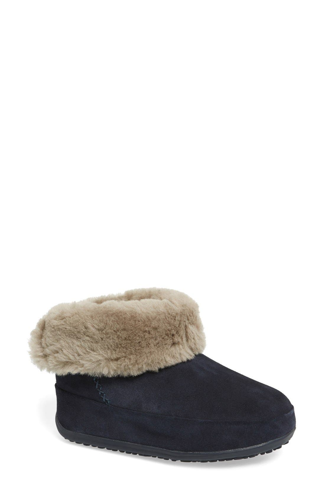 Main Image - FitFlop™'Shorty' Shearling Lined Boot (Women)