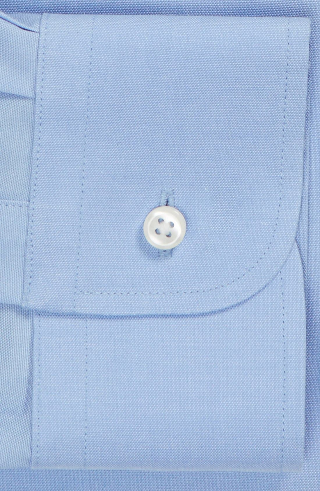 Alternate Image 4  - Nordstrom Men's Shop Traditional Fit Non-Iron Solid Dress Shirt