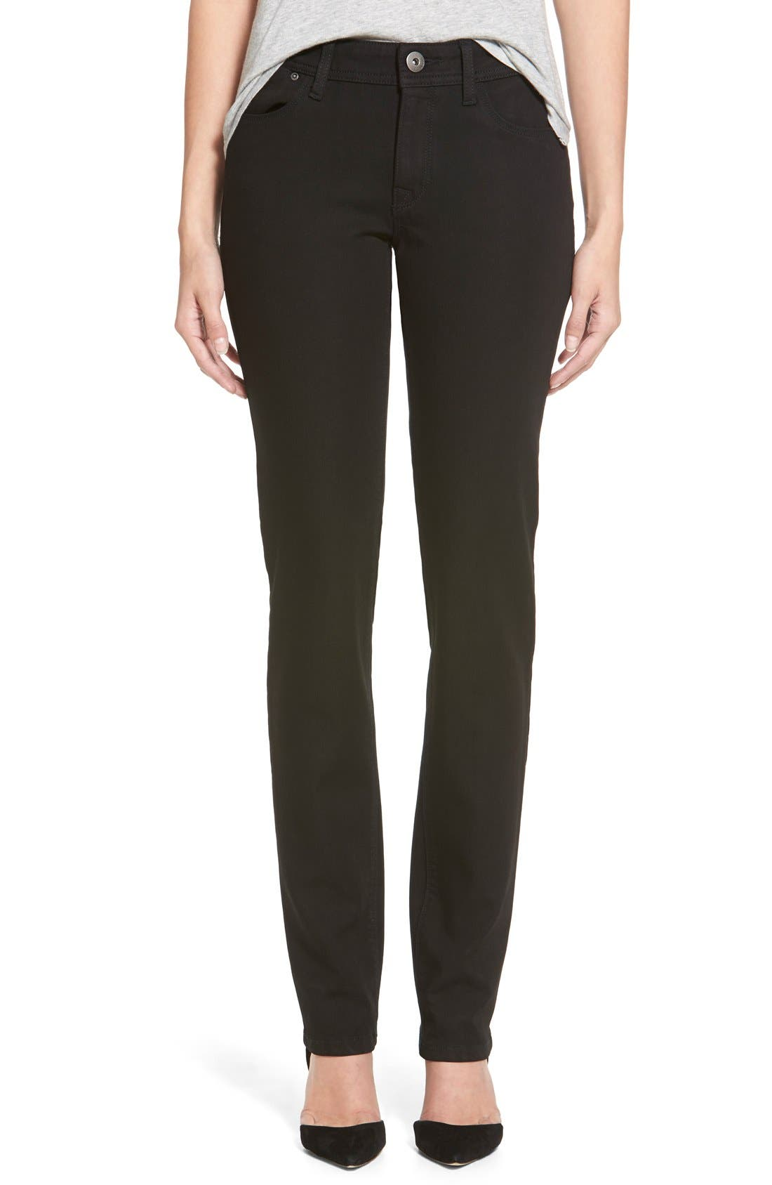 Alternate Image 1 Selected - DL1961 'Coco' Curvy Straight Leg Jeans (Riker)
