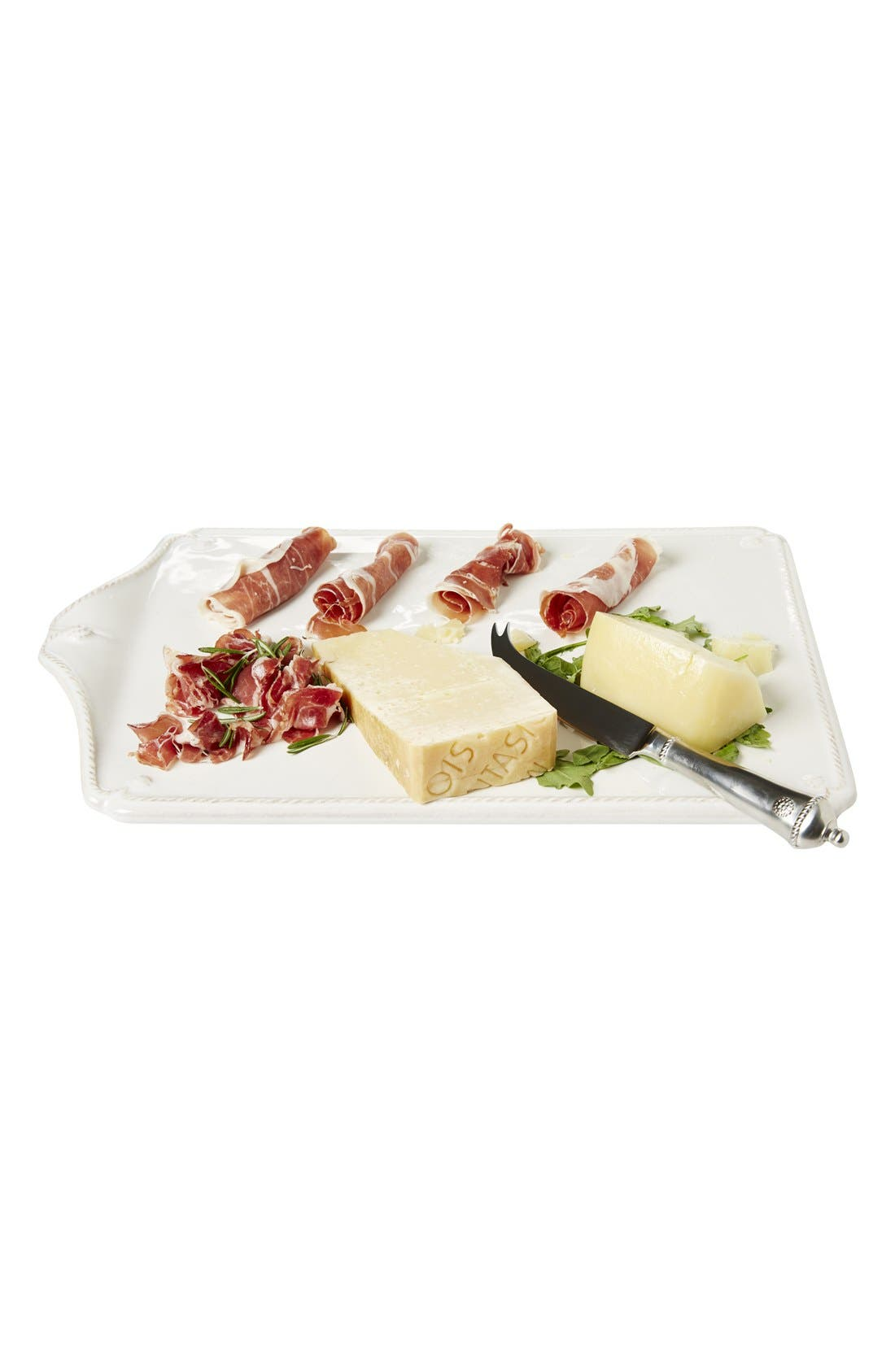 'Berry and Thread' Cheeseboard& CheeseKnife,                             Alternate thumbnail 2, color,                             Whitewash