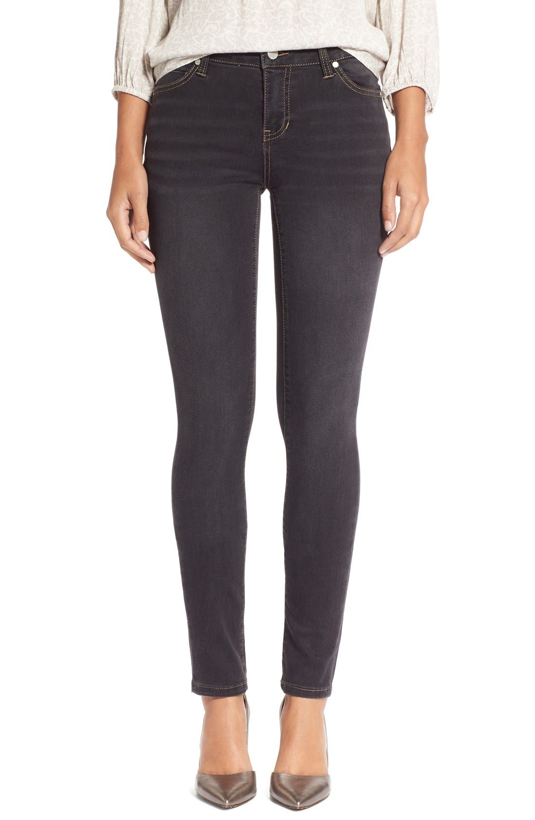 Abby StretchSkinny Jeans,                         Main,                         color, Sulphur