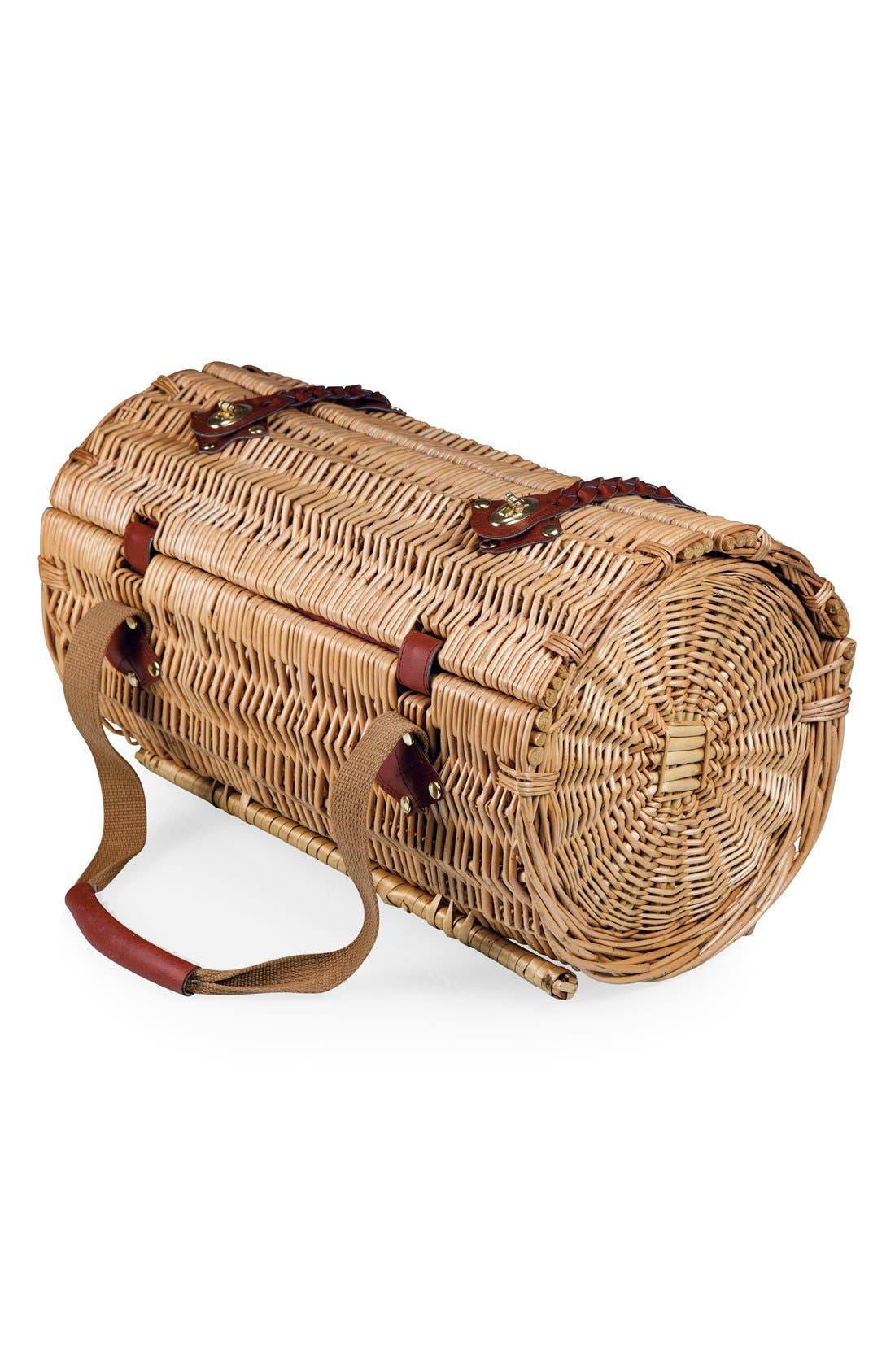 Alternate Image 2  - Picnic Time 'Verona' Wicker Picnic Basket