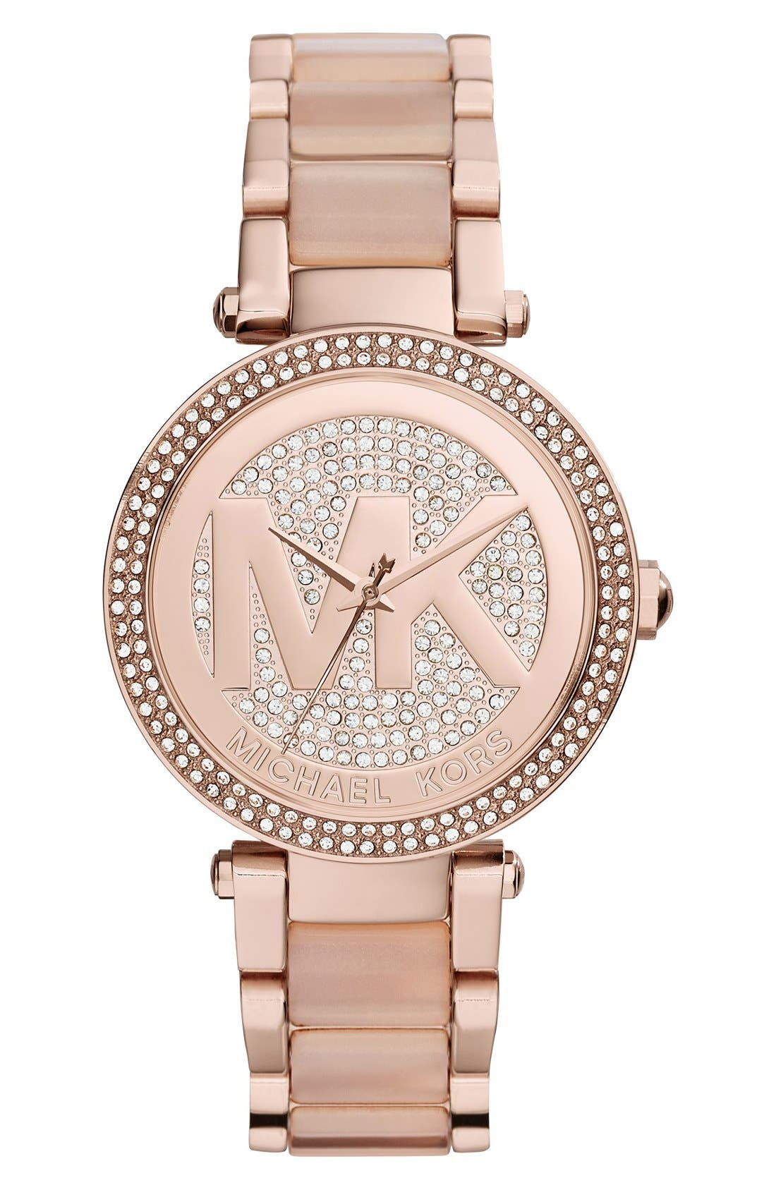 Womens Michael Kors Rose Gold Jewelry