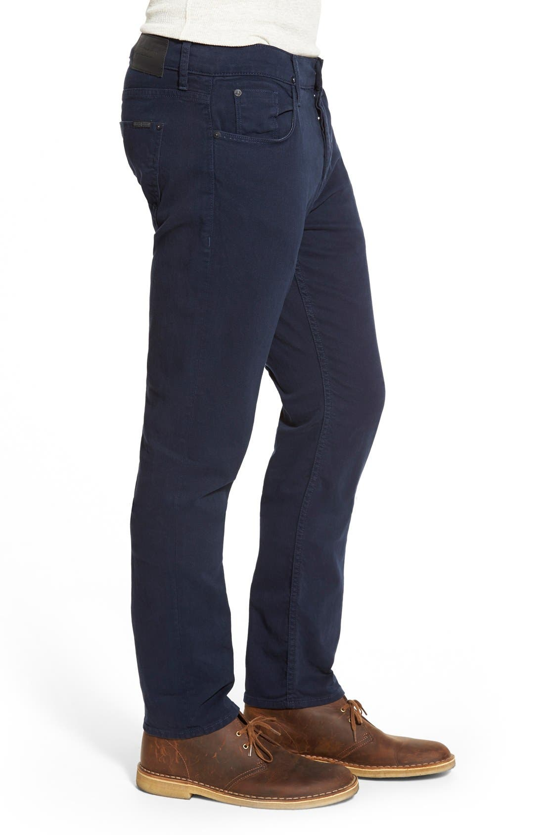 Alternate Image 3  - Hudson Jeans Blake Slim Fit Jeans (Covert Blue)