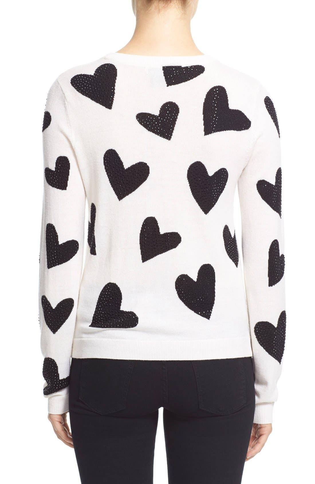 Alternate Image 2  - Alice + Olivia 'Carey' Embellished Sweater