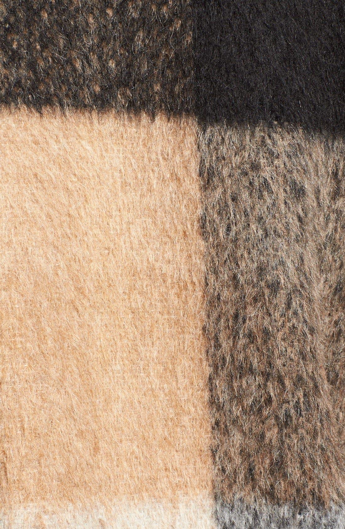 Alternate Image 5  - BadgleyMischka'Maxine' Plaid Oversize Coat