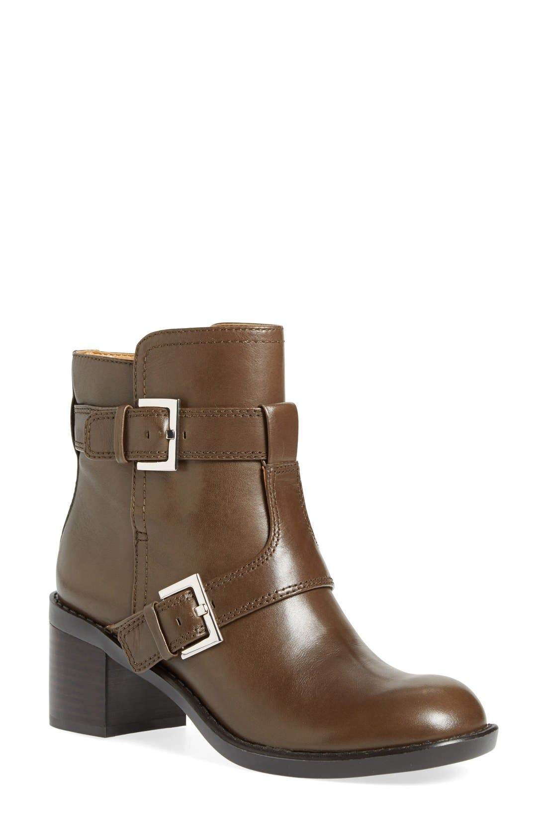 Main Image - Nine West 'Lorena' Buckle Mid Boot (Women)