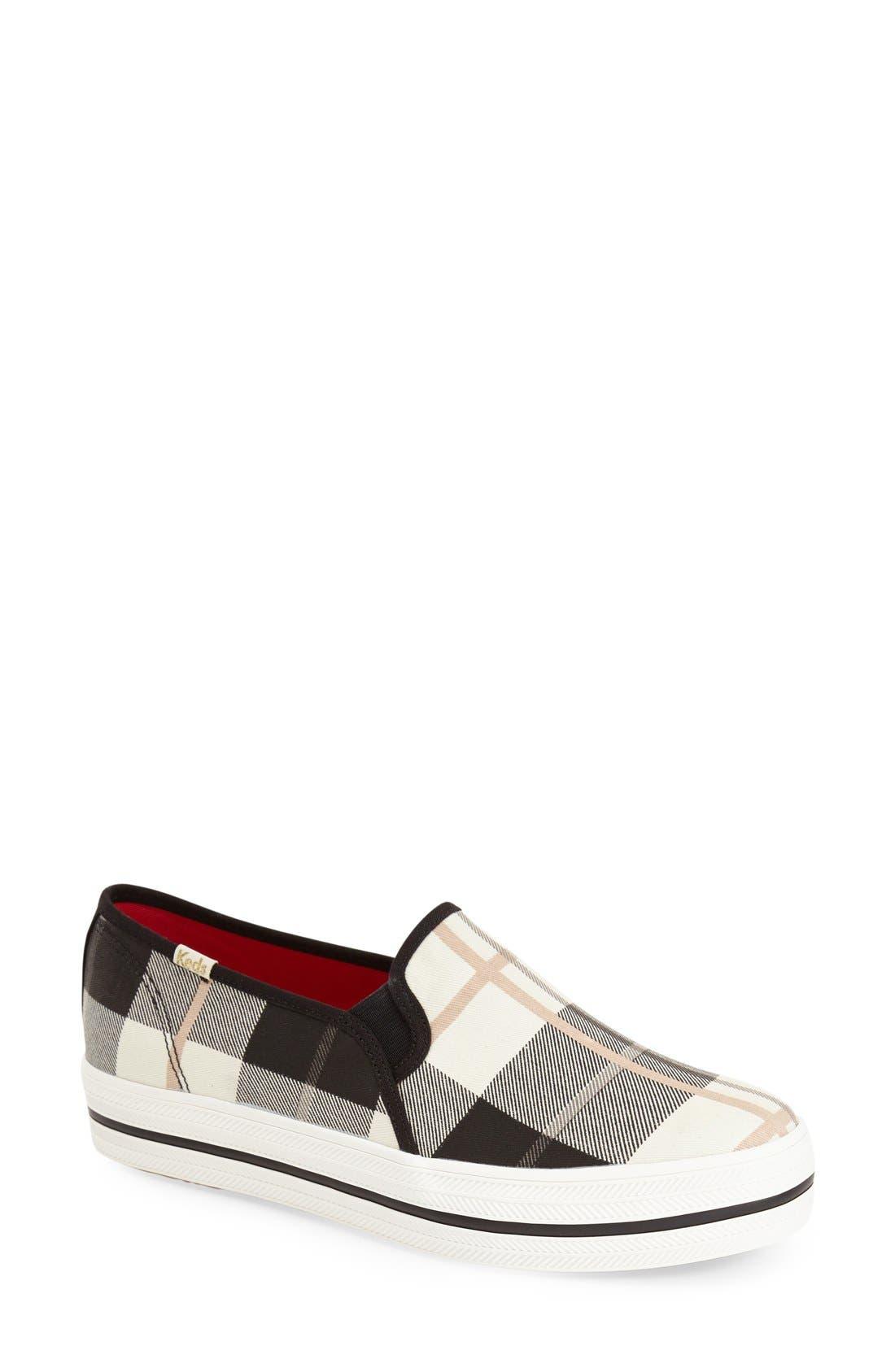 Alternate Image 1 Selected - Keds® for kate spade new york 'decker' slip-on sneaker (Women)