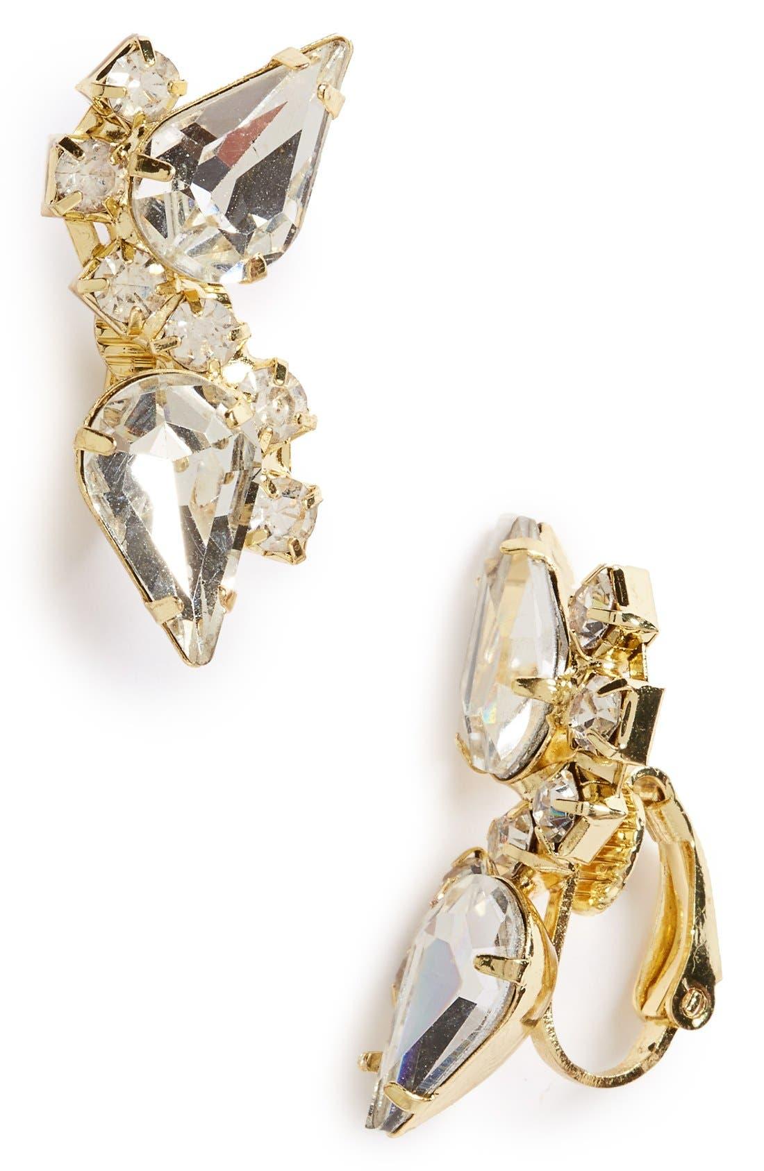 Main Image - Sole Society Crystal Ear Crawlers