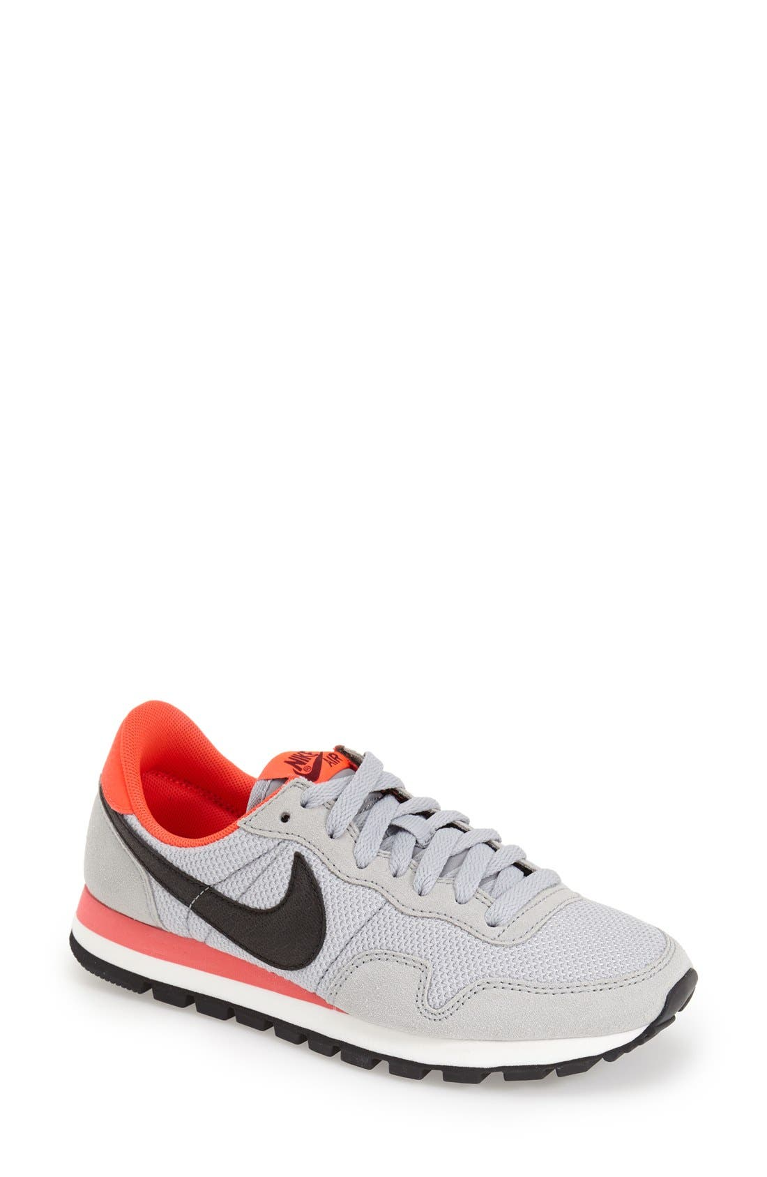 'Air Pegasus 83' Sneaker,                             Main thumbnail 1, color,                             Grey/ Black/ Red