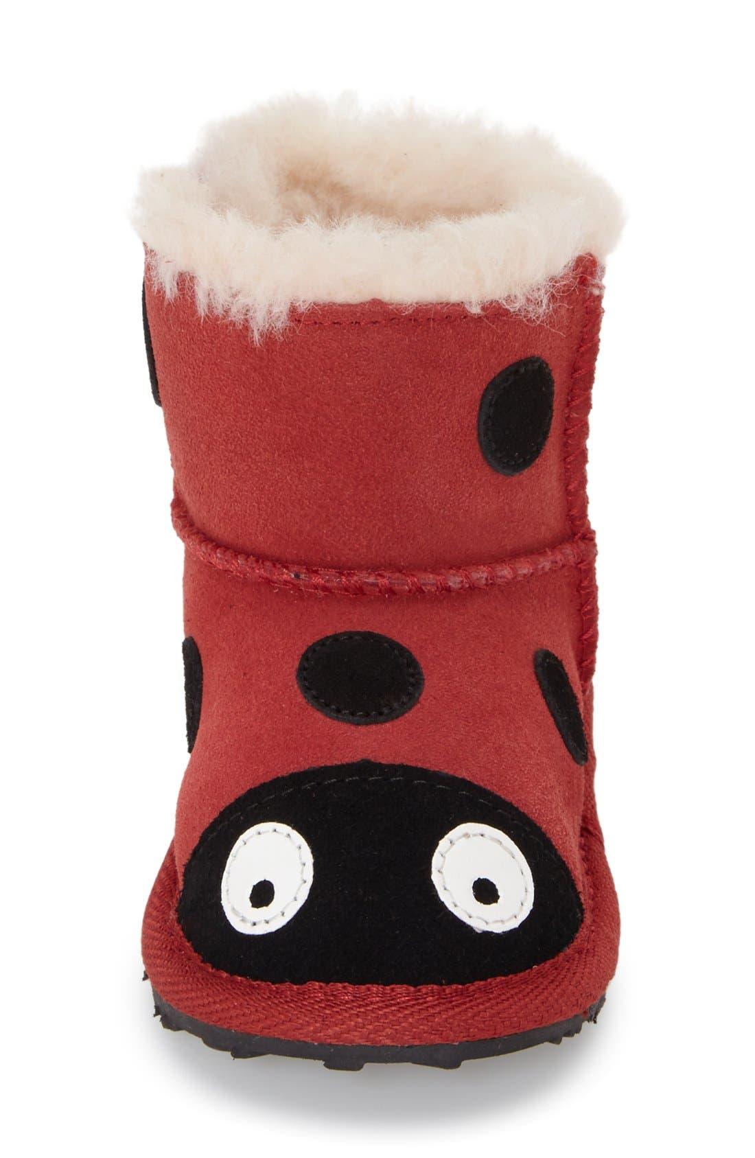 Alternate Image 3  - EMU Australia 'Ladybug' Boot (Baby & Walker)