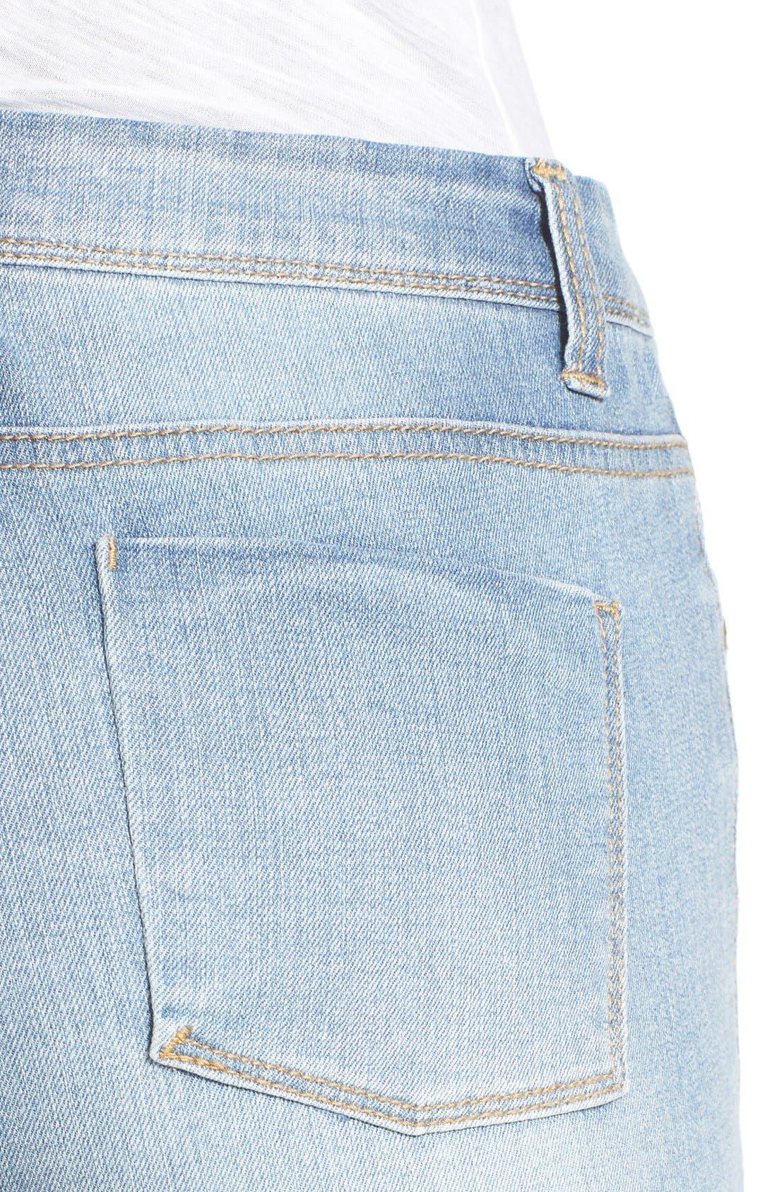 Alternate Image 2  - Generra High Waist Skinny Jeans (Mastic)