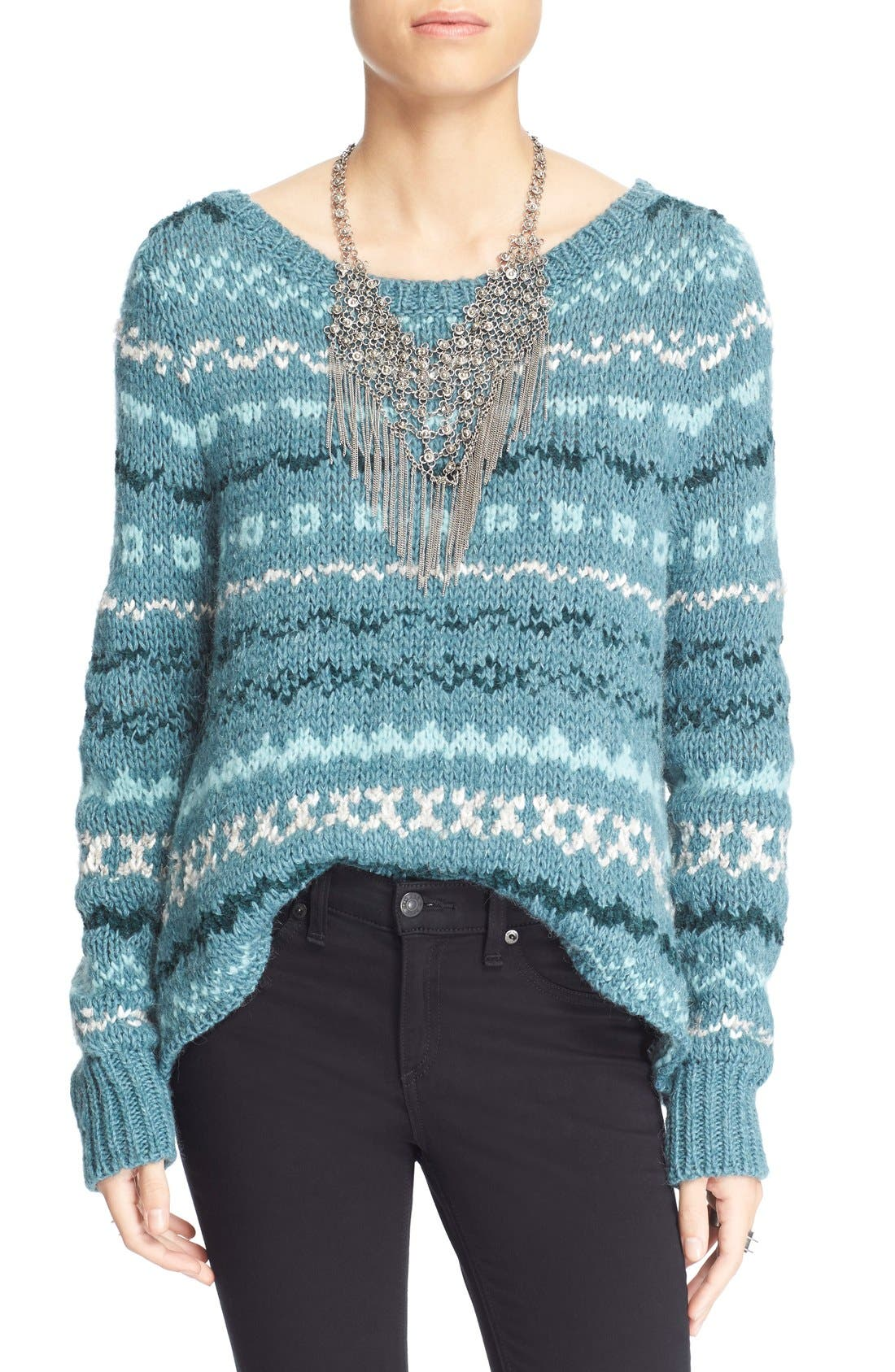 Alternate Image 1 Selected - Free People 'Through the Storm' Sweater