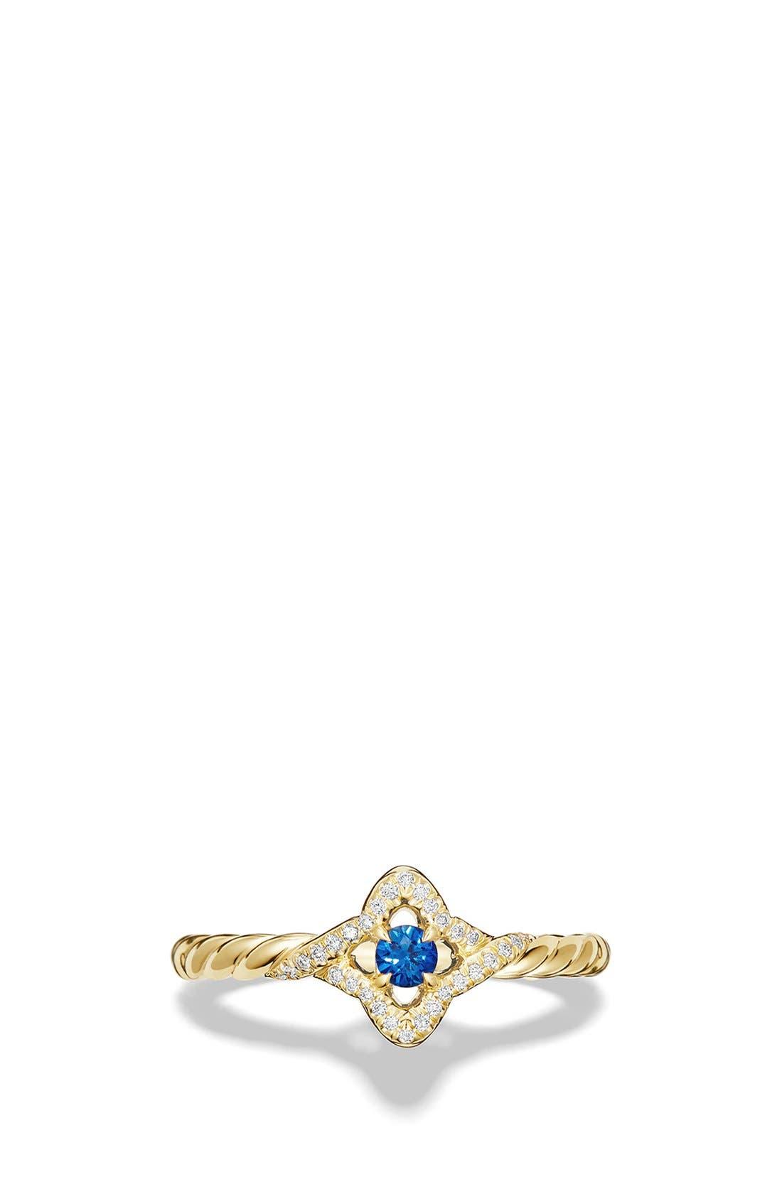 Alternate Image 3  - David Yurman 'Venetial Quatrefoil' Ring in Gold