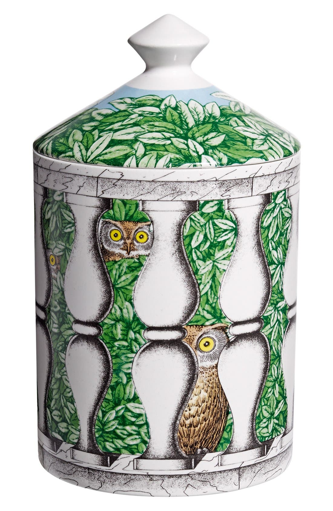 Alternate Image 1 Selected - Fornasetti 'Balaustra - Segretto' Lidded Candle