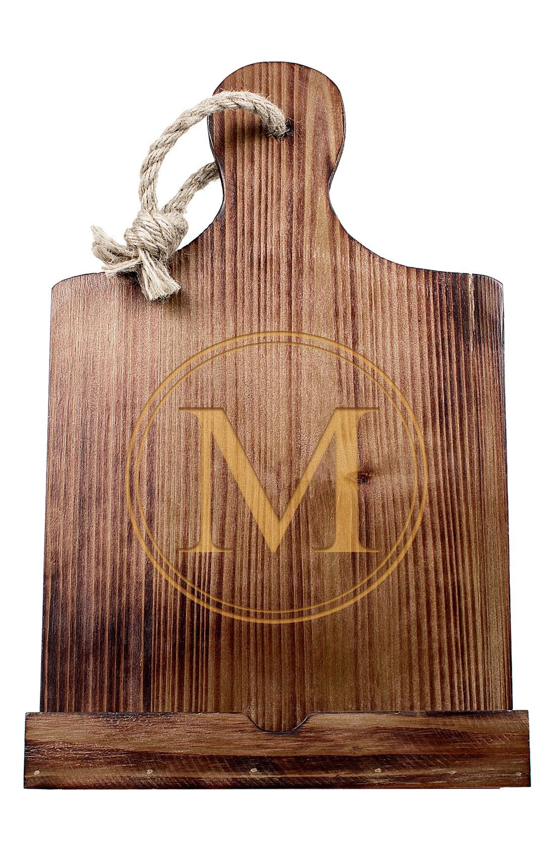Cathy's Concepts Monogram Wood Tablet/Book Stand