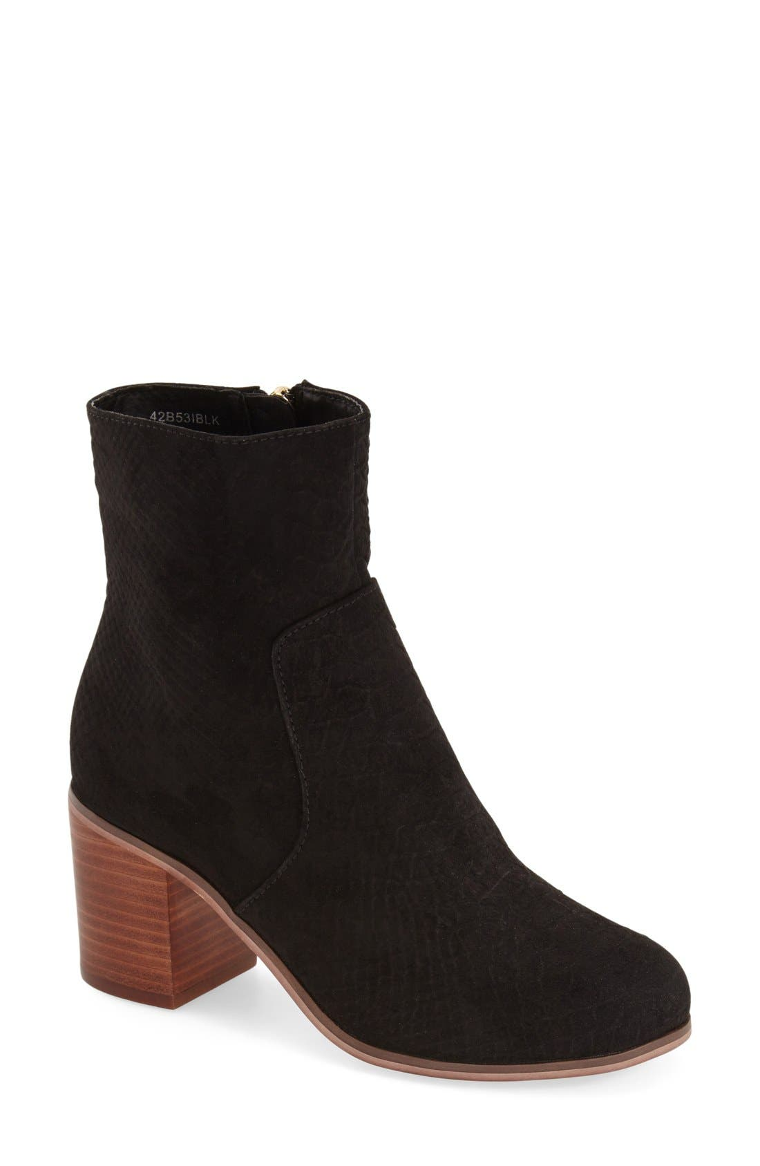 Alternate Image 1 Selected - Topshop 'Bless' Ankle Bootie (Women)