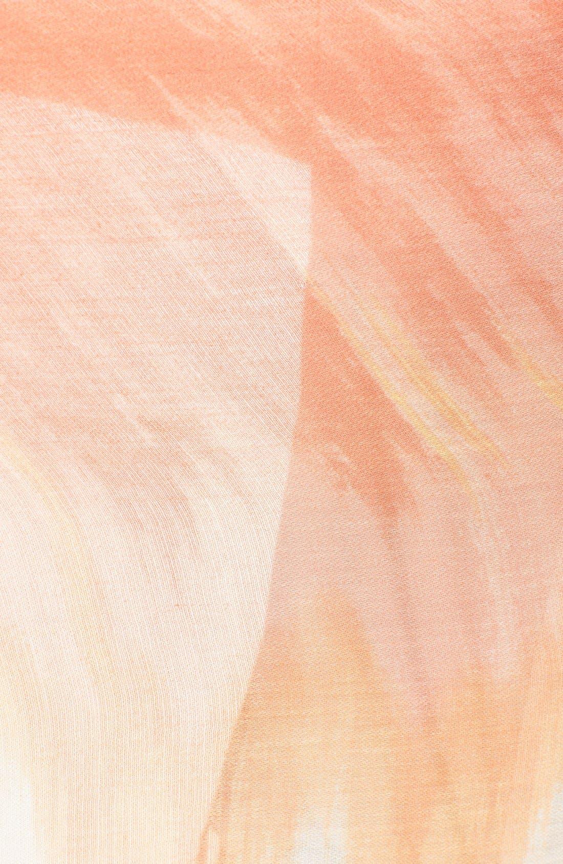 Alternate Image 3  - Nordstrom 'Painted Ombré' Scarf