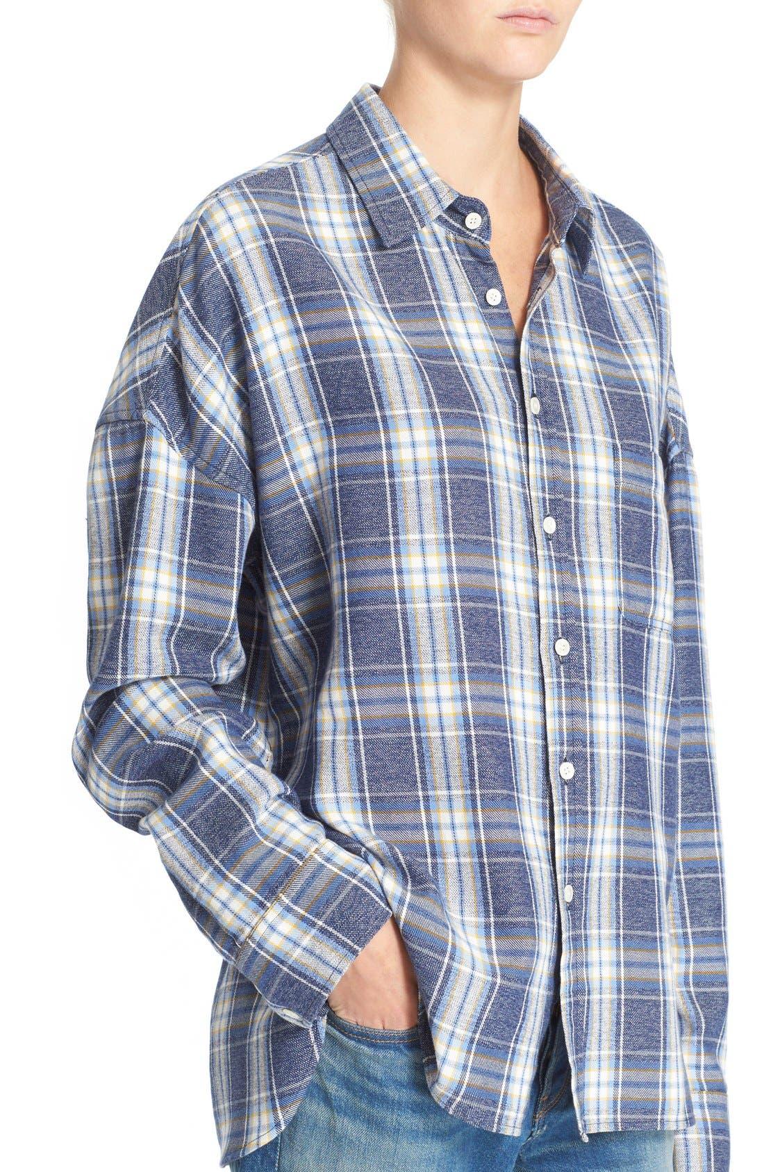 Alternate Image 4  - 6397 'Lori' Cotton Flannel Shirt