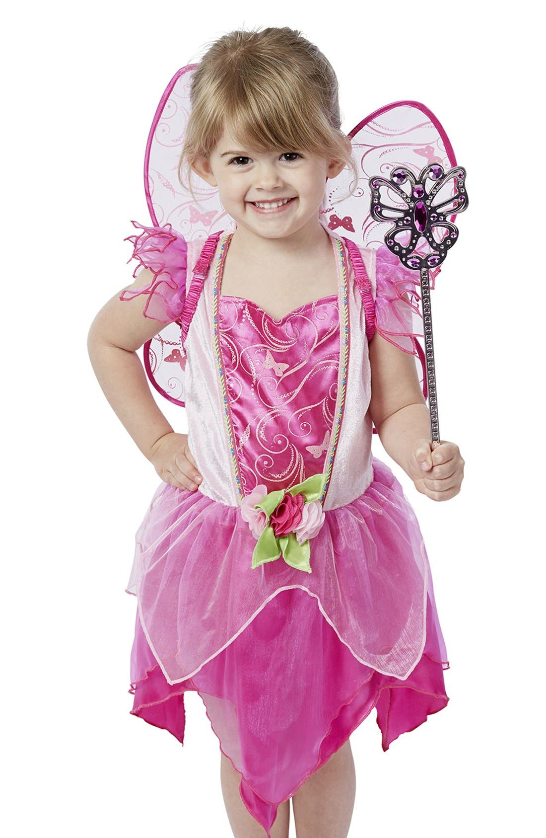 Flower Fairy Role Play Set,                             Main thumbnail 1, color,                             Purple