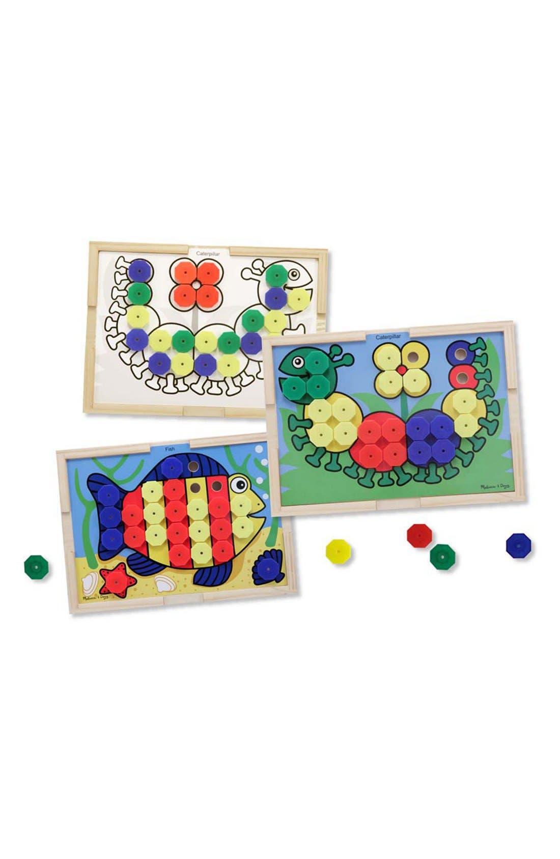 Sort & Snap Color Match Activity Board,                         Main,                         color, Brown