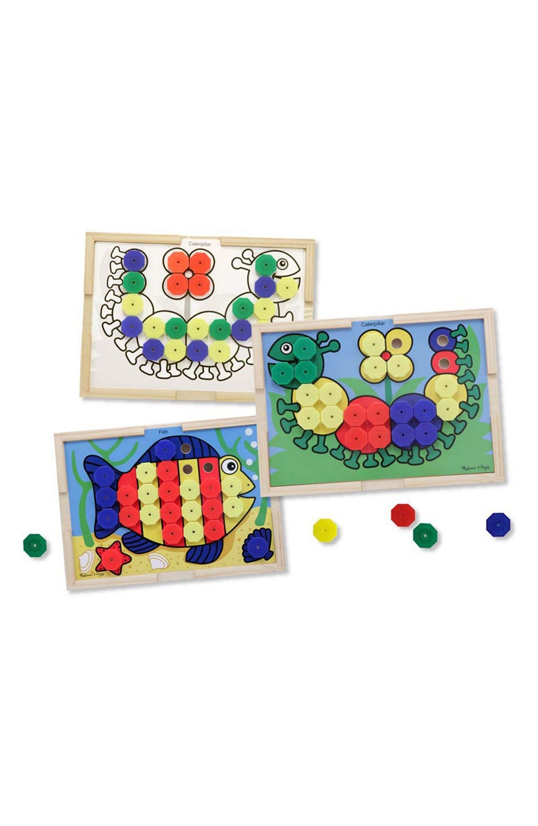 Melissa & Doug Sort & Snap Color Match Activity Board