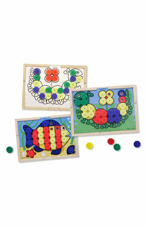 08a04596c2c0 Melissa & Doug Sort & Snap Color Match Activity Board