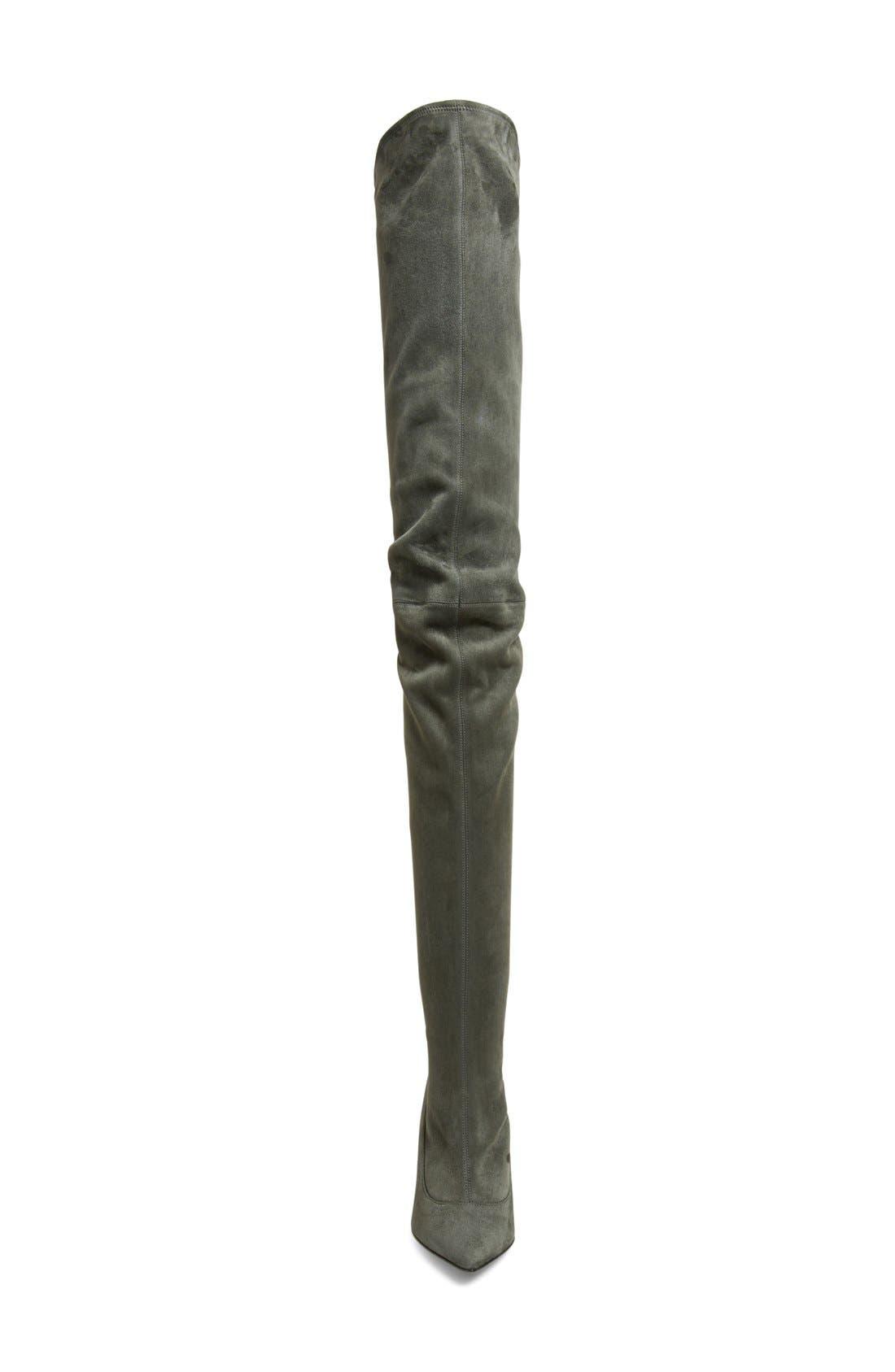 Alternate Image 3  - Tamara Mellon 'Trouble' Stretch Thigh High Boot (Women)