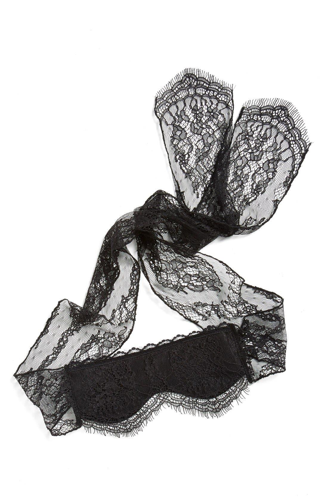 Alternate Image 1 Selected - Hanky Panky Lace Eye Mask