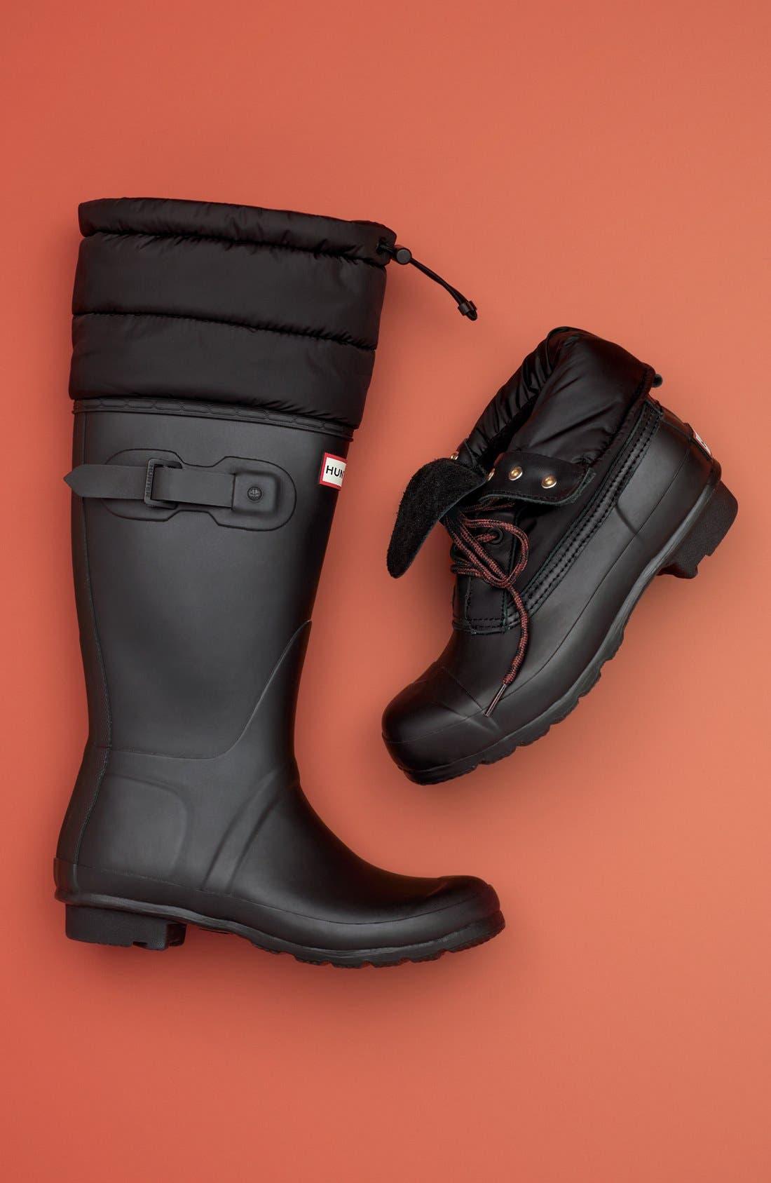 Alternate Image 5  - Hunter 'Original - Quilted Cuff' Rain Boot (Women)