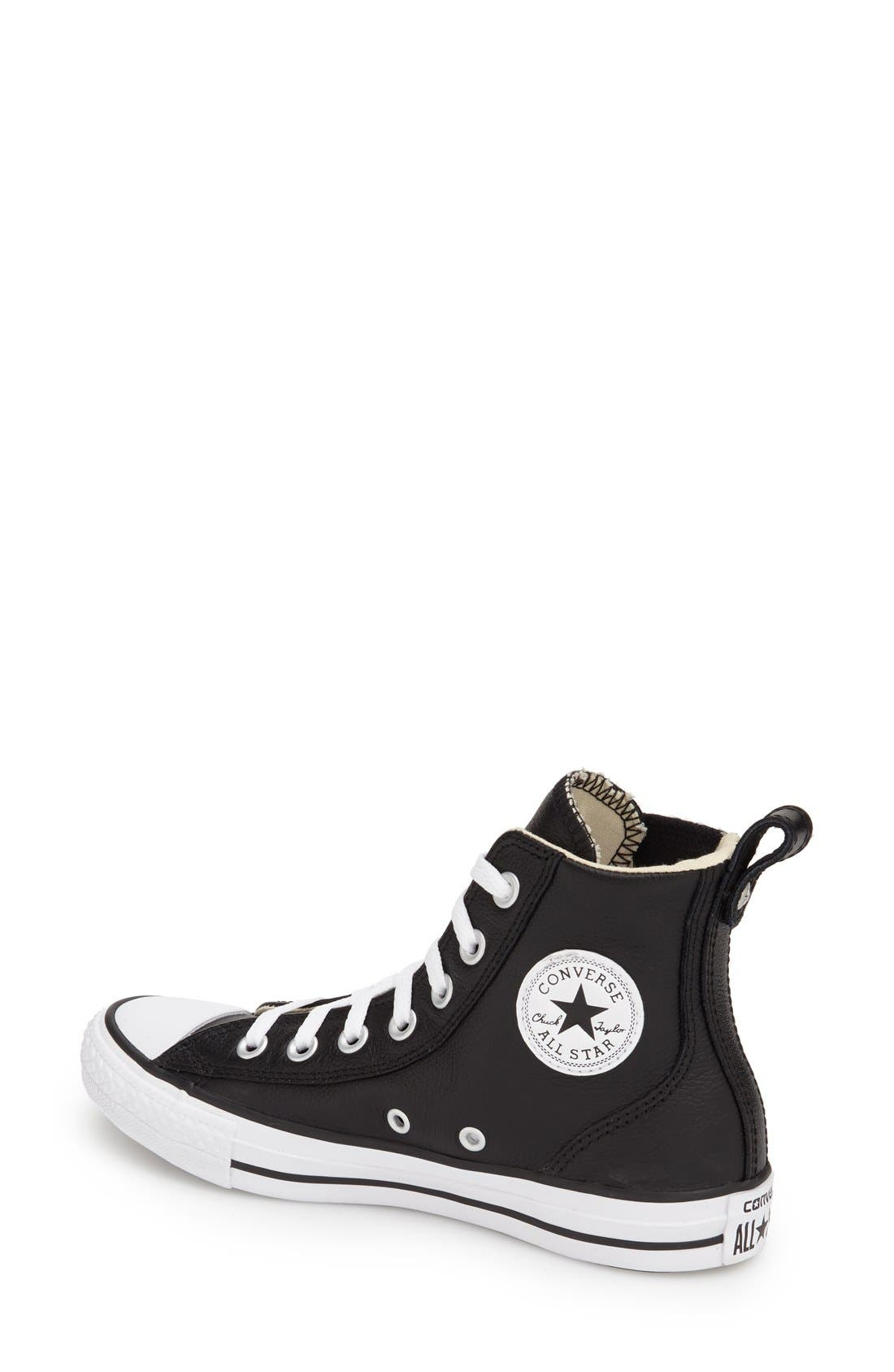 Alternate Image 2  - Converse Chuck Taylor® All Star® 'Chelsee' High Top Sneaker (Women)