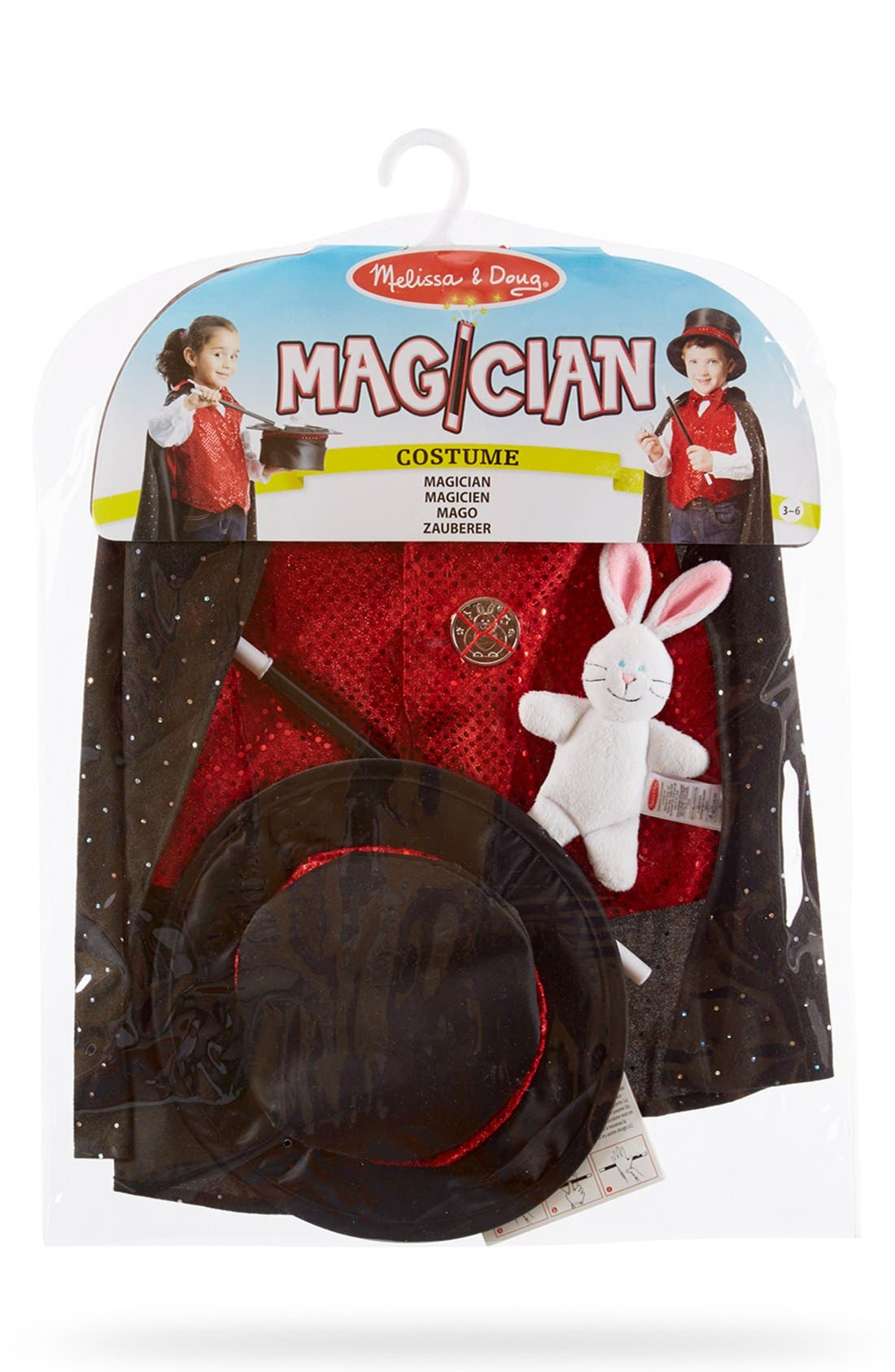 Melissa & Doug Magician Role Play Set (Little Kid)