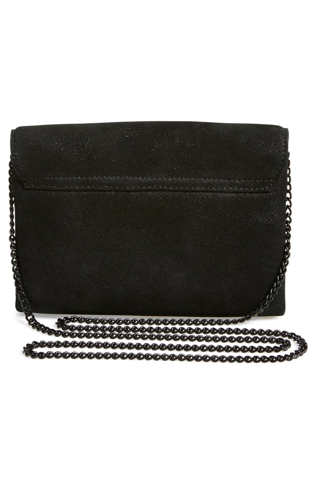 Alternate Image 3  - Loeffler Randall 'Junior Lock' Leather Clutch