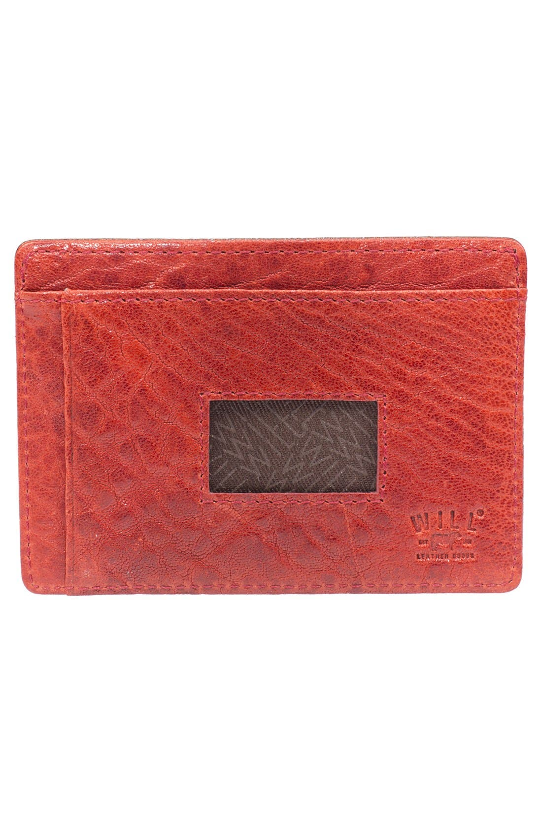 Alternate Image 2  - Will Leather Goods 'Quip' Leather Card Case