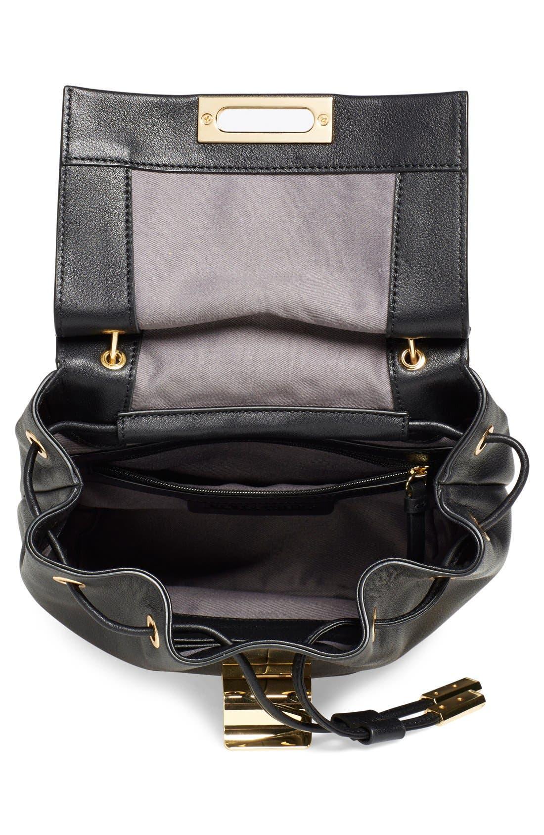 Alternate Image 4  - Ivanka Trump 'Mini Turner' Leather Backpack