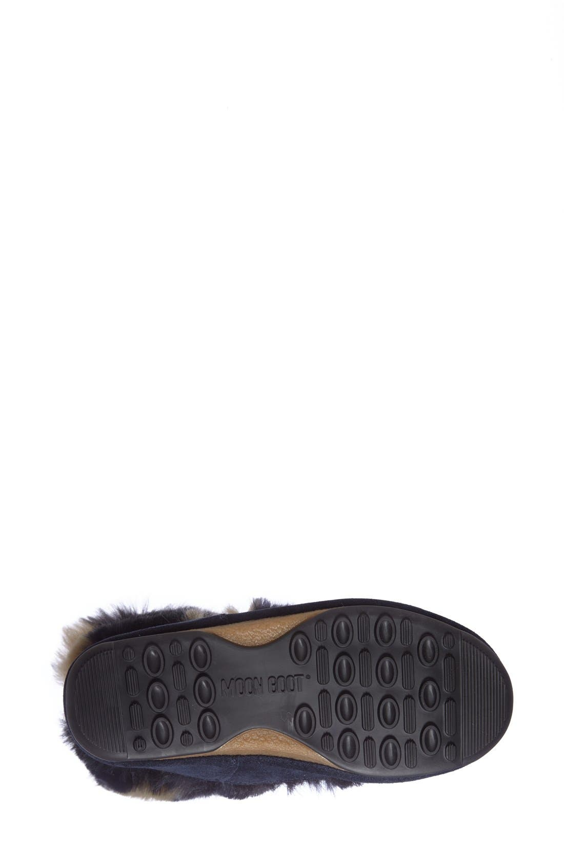 Alternate Image 4  - Tecnica® Camo Flip Paillette Water Resistant Insulated Moon Boot® with Faux Fur Lining (Women)