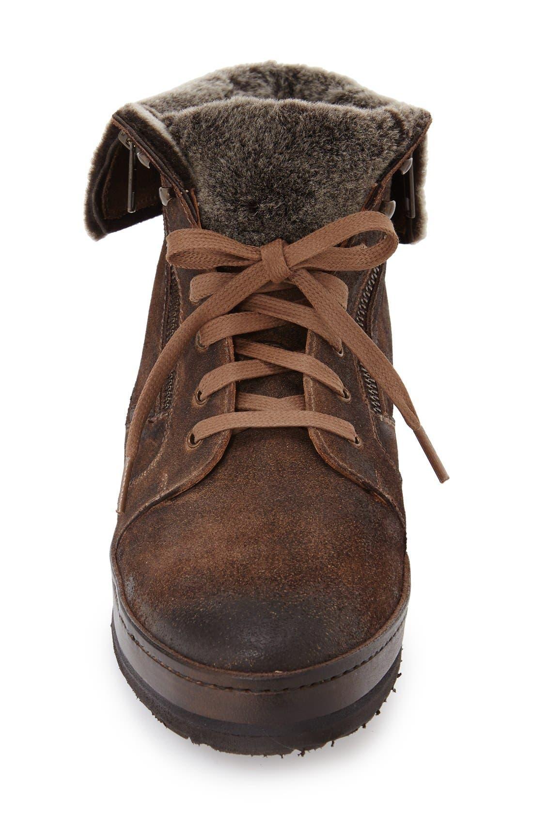 'Utrech' Sneaker Boot,                             Alternate thumbnail 3, color,                             Taupe